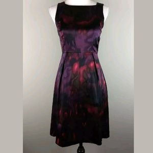 Theory Vague Joana Silk Cocktail Dress